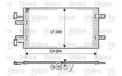 VALEO Condenseur de climatisation RENAULT TRAFIC VAUXHALL VIVARO 814171