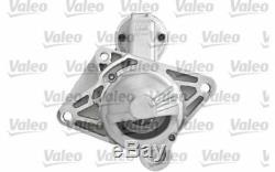VALEO Démarreur 2,2kW 12V Pour RENAULT TRAFIC LAGUNA ESPACE OPEL VIVARO 438202