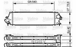 VALEO Intercooler pour RENAULT TRAFIC OPEL VIVARO 818771 Mister Auto