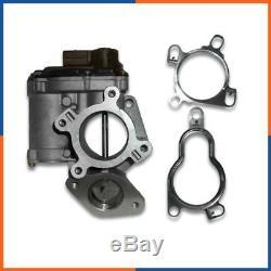Vanne EGR pour Opel Vivaro 2.0 CDTI 90cv 8200797706, 8200693739, 8200691292