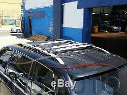 Vivaro Trafic Gris Primastar Toit Rail + Verrouillable Cross Barres Swb 90 kg 3x